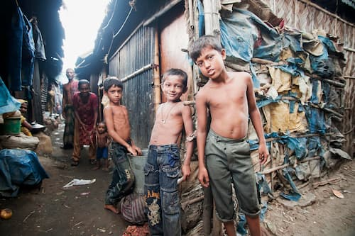 life strong in slums